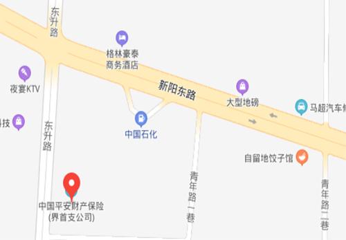 界首律师事务所位置地图